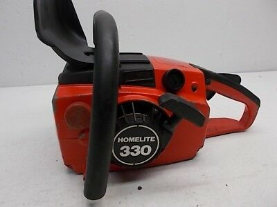 VINTAGE HOMELITE 330 Chainsaw  USED  For Parts Or Repair