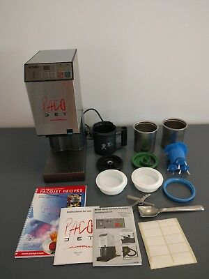 NEW PacoJet  PJ1 Frozen Food Processor Complete With 2 Beakers/Lids MSRP $5415