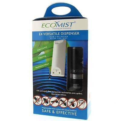 Insect Repel E4 Starter Pack Ecomist Starter Pack Automatic Dispenser Safe