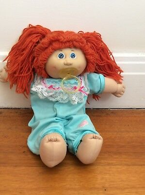 Cabbage Patch  Doll - vintage WITH ORIGINAL DUMMY - GIRL