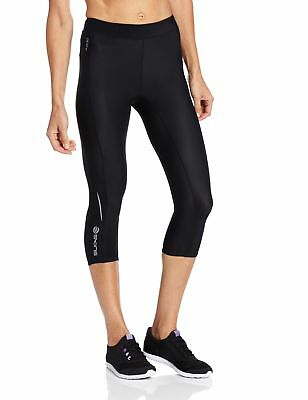 Skins A200 Women's Compression Capri Tights Black/Black X-Large New