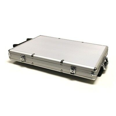 Brybelly 1000-Count Aluminum Rolling Poker Chip Case New