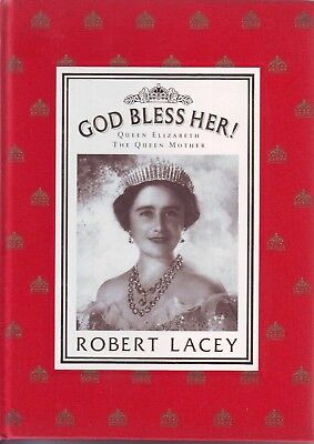 "Royal Family Collectors Book: "" The Queen Mother "" Eliz. 1  God Bless Her  1987"