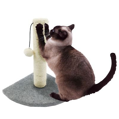 Pet Kitten Cat Corner Sisal Scratching Post Activity Board Carpet Scratcher