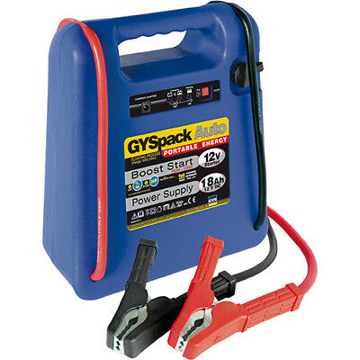 Gys Pack  400 Auto 12V Portable Booster Pack Ideal For Car Emergency Boost