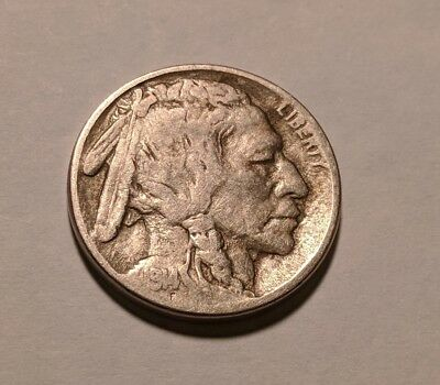 1914 USA Buffalo Nickel - Free combined shipping (up to 10 coins)