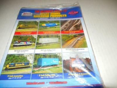 Atlas 2016-  The Ultimate Guide To Atlas Model Rr Products- New- W4