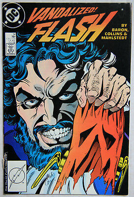 Flash Vol 2 Issue 14 VF Signed Mike Collins