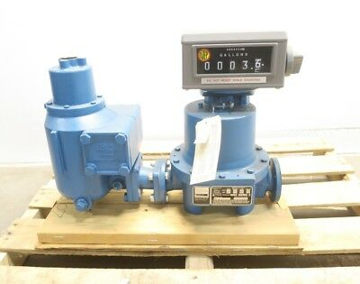 New Total Control Systems Tcs 682-15-AF-1 All Ferrous Piston Flow Meter