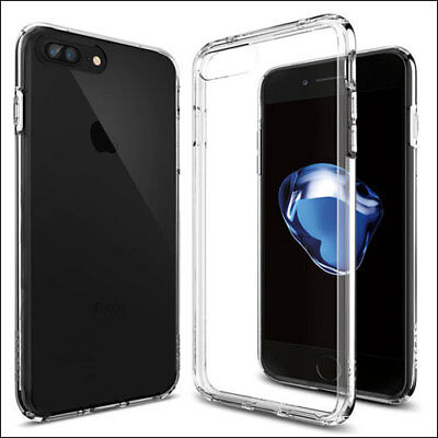 iPhone 6 6S 8 7 Plus X Case Soft Silicone Clear Transparent Slim Gel TPU Rubber