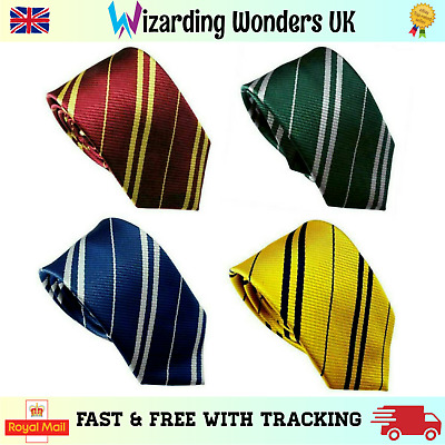 Harry Potter Tie Gryffindor Slytherin Ravenclaw Hufflepuff Fancy Dress Book Week