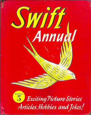 SWIFT ANNUAL No 5 1959 Hulton hardback Rare childrens collectable Repaired spine
