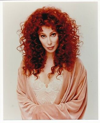 "Faithful 8"" x 10"" Cher Color Candid Still Photo-#146-1996"