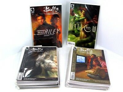 Dark Horse Buffy Season 8 Near Complete 1-37 + Willow & Riley One Shots Nm