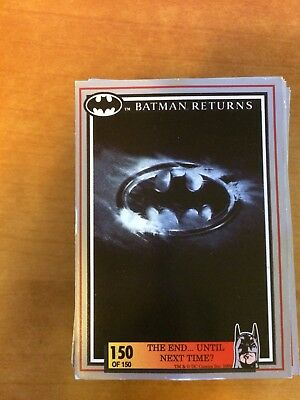 Batman Returns - 121/150 Card 1992 Australia Dynamic