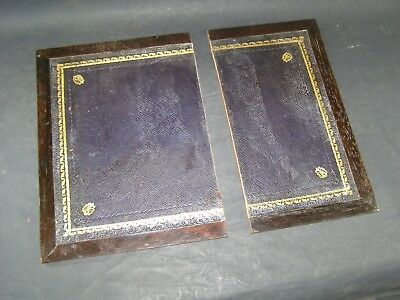 Antique Boards for Writing Slopes 10 5/8 x 5.75 and 10 5/8 x 7.75 With 5/8 Rim
