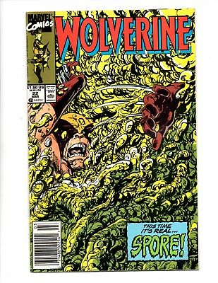 wolverine comic book lot issues #22-25 1988 series