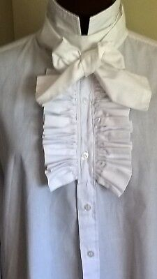 Man's shirt,doctored to produce a 'period' C18/19 look, excellent condition
