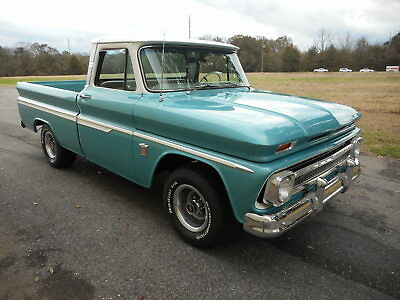 "1964 Chevrolet C-10 Short Bed, Fleetside, Big Back Window 1964 CHEVROLET C-10 WITH ""FACTORY AIR CONDITIONING"", 44,800 ACTUAL MILES"