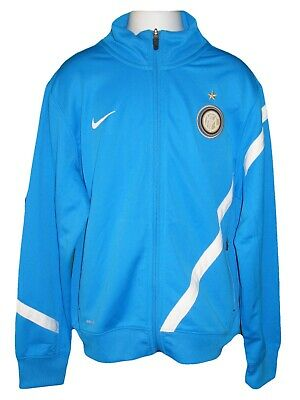 NIKE Boys Girls Inter Milan Football Club Tracksuit Jacket M Age 10-12 Years