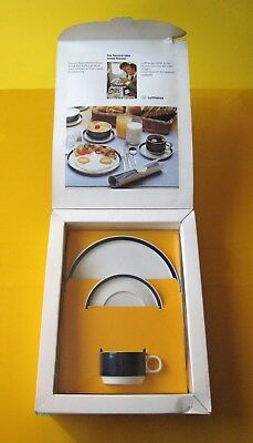 "Lufthansa LH First Class Rosenthal Studio Line Bordgeschirr ""ABC"" Service SET"