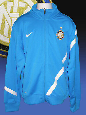 NIKE Boys Girls Inter Milan Football Club Tracksuit Jacket Large Age 12-13 Years