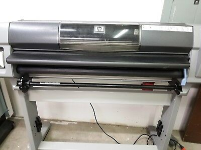 HP Designjet 5500ps 42 inch wide format plotter.  (NOT working.  For Parts)