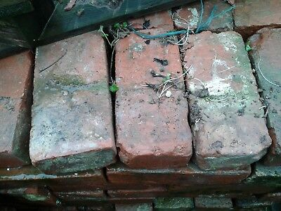 Reclaimed Red  Bricks 10,000 and more many types 70p to £1 no vat