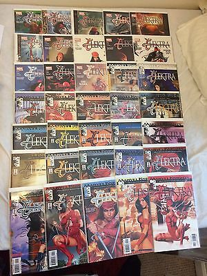 Marvel Knights Comics 1-35 Elektra Complete Set Daredevil The Hand 2001 Series