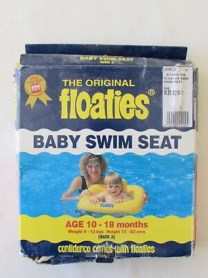 The Original Floaties Inflatable Baby Swim Seat Size 2 10 to 18 months