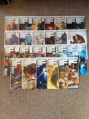Marvel Comics FF 1-23 Fantastic Four Dr Doom Spiderman Complete Set
