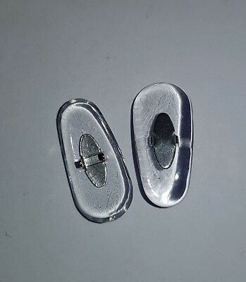 2 Naselli Ricambio Occhiali Ray Ban Nosepiece Replacement Aviator Large