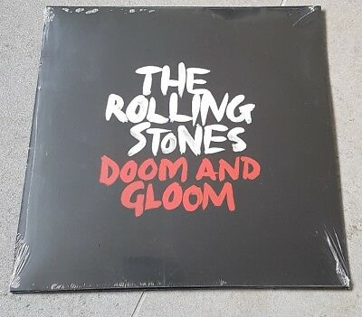 THE ROLLING STONES - DOOM AND GLOOM - 1 sided 10 inch vinyl - Black Friday 2015