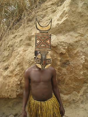 Fine Tribal Gallery - SMALL  BWA NWANTANTAY FLYING PLANK MASK,  Burkina Faso Bob