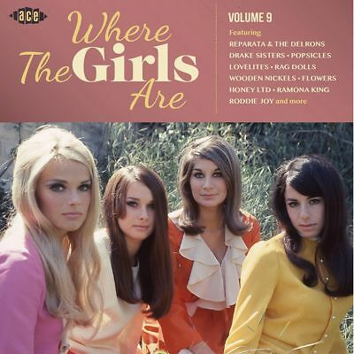 "WHERE THE GIRLS ARE VOLUME 9  ""A LUSH COLLECTION OF 60's"" NORTHERN SOUL CD"