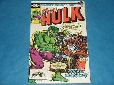The Incredible Hulk # 271 May1982 1st Colour Appearance Rocket Raccoon Key Issue