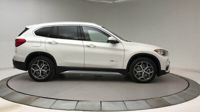 2018 BMW X1 sDrive28i Sports Activity Vehicle sDrive28i Sports Activity Vehicle 4 dr Automatic Gasoline 2.0L 4 Cyl Alpine Whit