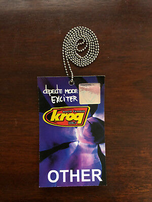 Depeche Mode Hanging Pass Exciter Tour KROQ 2001