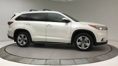 2016 Toyota Highlander AWD 4DR V6 LIMITED P AWD 4DR V6 LIMITED P SUV Gasoline 3.5L V6 Cyl BASE