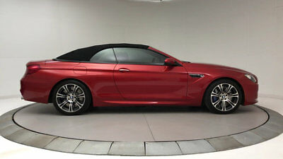2013 BMW M6 2dr Convertible 2dr Convertible M6 Convertible Low Miles Automatic Gasoline 4.4L 8 Cyl Sakhir Or
