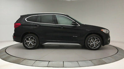 2018 BMW X1 sDrive28i Sports Activity Vehicle sDrive28i Sports Activity Vehicle 4 dr Automatic Gasoline 2.0L 4 Cyl Jet Black