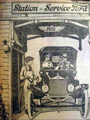 1920'S Ford Car Ad M1M 9X7