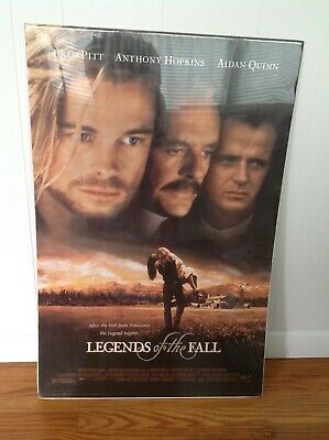 "LEGENDS OF THE FALL vintage movie poster (1994) 23""X36"" BRAD PITT - NEW"