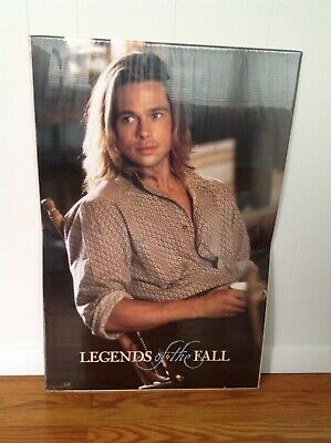 "LEGENDS OF THE FALL vintage movie poster (1994) 36""X23"" BRAD PITT - NEW"