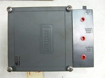 Fisher 3582 Pneumatic Valve Positioners *New*