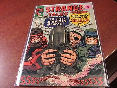Strange Tales #143 Marvel 1966 Silver Age Comic Nick Fury Agent of Shield