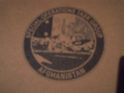 Special Operations Task Group Afghanistan Pt Shirt