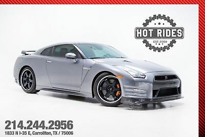 2014 Nissan GT-R Black Edition With Upgrades 2014 Gray Nissan GT-R Coupe Black Edition With Upgrades! Twin turbo! GTR! nismo