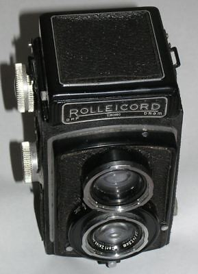 Rolleicord Compur Rapid Film Camera Serial No. 1080650