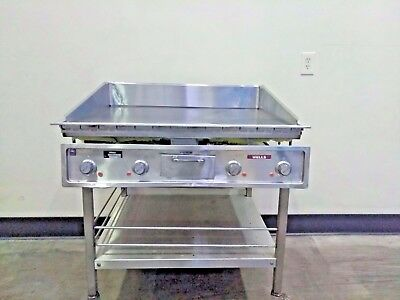 """Wells G-236 34"""" Commercial Electric Restaurant Countertop Steel Griddle Grill"""